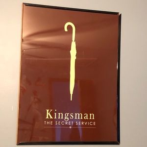 Minimalist Movie Posters - Kingsman